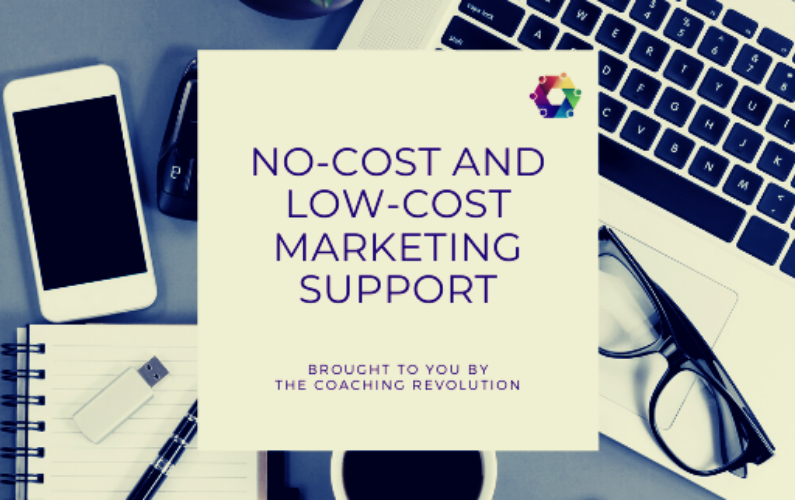 Low Cost and No Cost Marketing Support